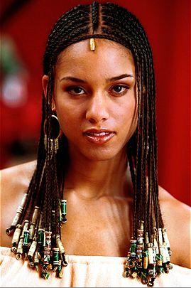 beautiful alicia keys braids