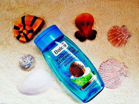 Balea Schönheitsgeheimnisse Shampoo Cocos Wasser