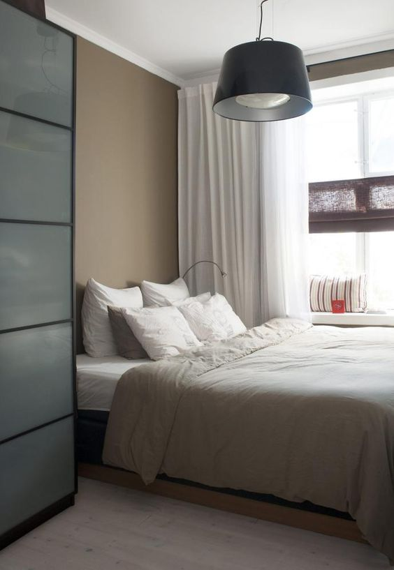 I like the calm soothing colors, and the tall storage/closet ...