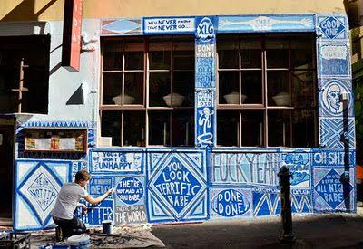 arte urbana com ares de tradição, via leite-com