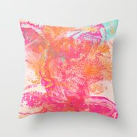 Throw Pillow featuring Explosion by Edem