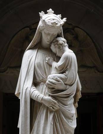 Santa Madre María y el Niño por Bill McAllen