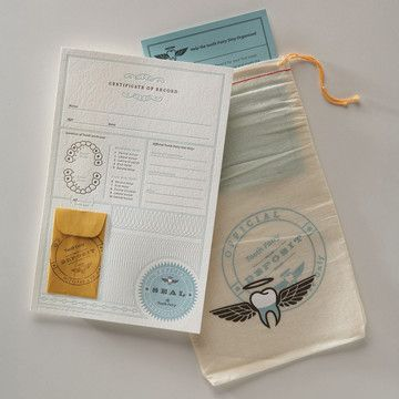 tooth fairy kit by notion farm: