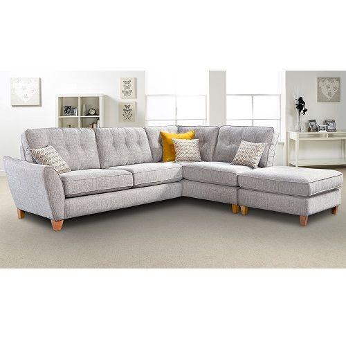 Ashover Large Corner Sofa Footstool Furniture Factors Corner Sofa And Footstool Corner Sofa Furniture
