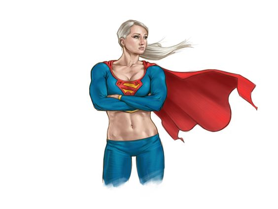 Super Girl, Stephen Langmead on ArtStation at http://www.artstation.com/artwork/super-girl-ecc53518-0736-4dd6-b019-0017dd5206db