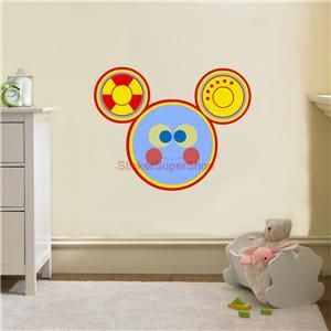 Details about toodles mickey mouse clubhouse disney decal - Mickey mouse clubhouse bedroom decor ...