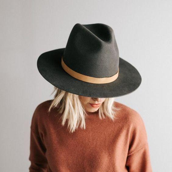 Jak Nosic Jesienne Kapelusze Jakie Fryzury Sa Najlepsze Blog Hairstore Outfits With Hats Hat Fashion Fashion