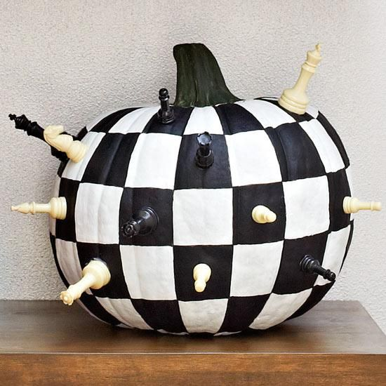 Check mate! #PumpkinaDay