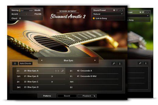 Ni Session Guitarist Strummed Acoustic 2 Kontakt Library Acoustic Guitarist Native Instruments