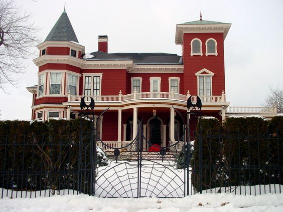Stephen King's house in Bangor, Maine