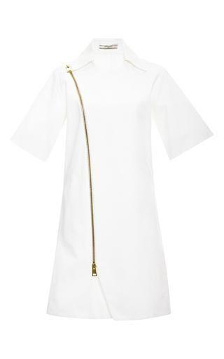 Zipped wrap dress by BOUCHRA JARRAR Available Now on Moda Operandi