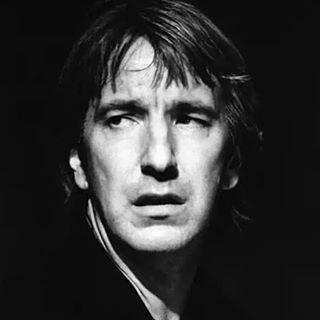 "Alan Rickman as the lead in ""Hamlet"", Riverside Studio - London, 1992:"