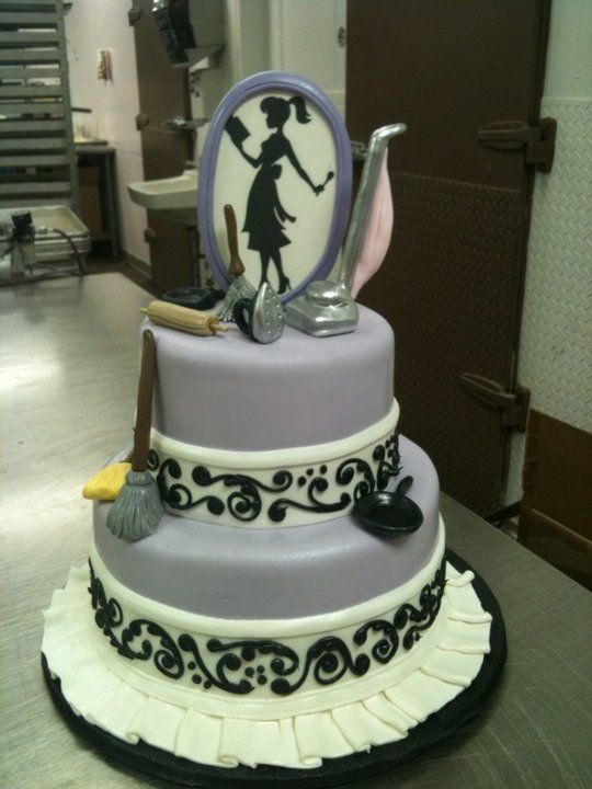 Bridal Shower Cake from Frosted Art Bakery