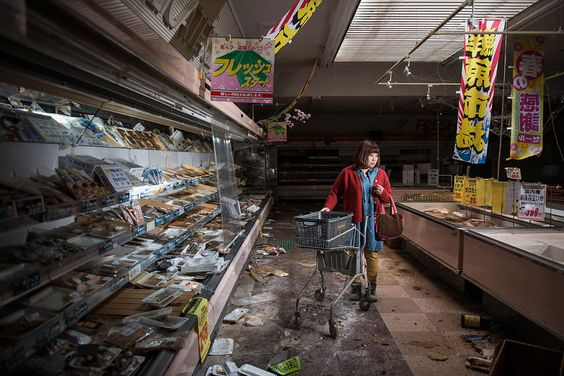 Former Residents of a Fukushima Exclusion Zone Return Home in Emotional Portraits #inspiration #photography