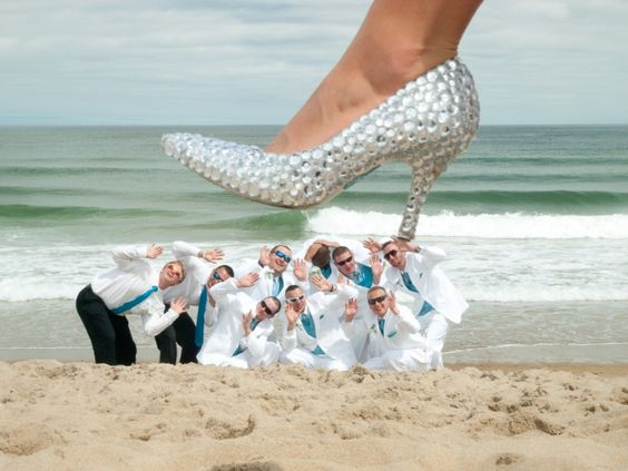 Maine Wedding Photography Unique Creative Modern Lad Beach Old Orchard Bling Bridal Shoes High Heel