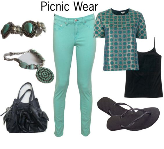 Picnic Wear - my wednesday lunch outfit