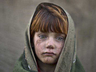 These Afghan Child Refugee Photos Will Break Your Heart — And Maybe Just Give You Hope