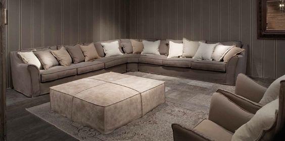 Villevenete sofas | Sofas * Divani | Pinterest
