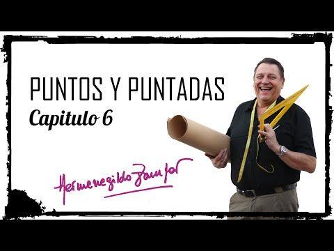 Hermenegildo Zampar - Puntos y Puntadas Capítulo 6 - Detalles del corpiño base - YouTube