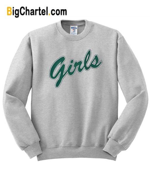 Girls Shirt Friends Green Graphic Sudadera