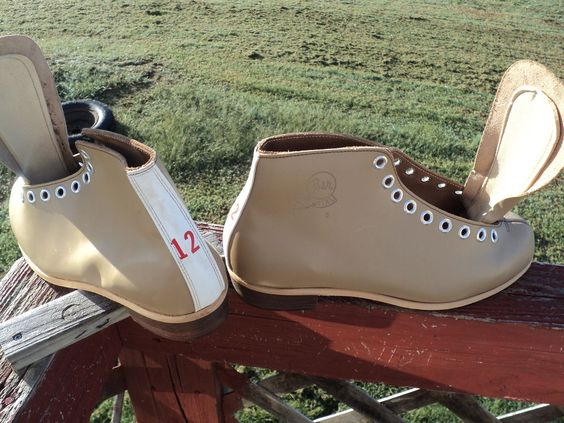 Vintage tan Riedell low top skate boots marked size  12 D 23111 inside unmounted #riedell $39.99 free shipping and tracking