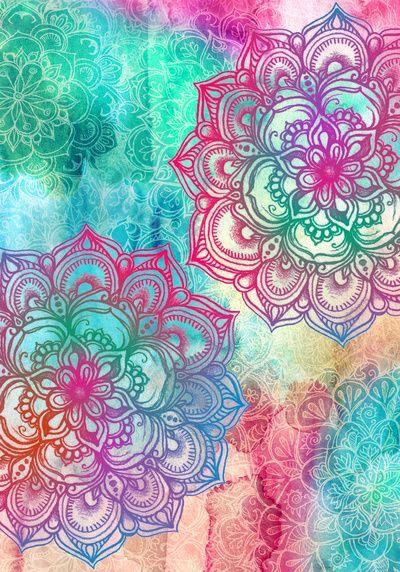 ombre mandala wallpaper - photo #4
