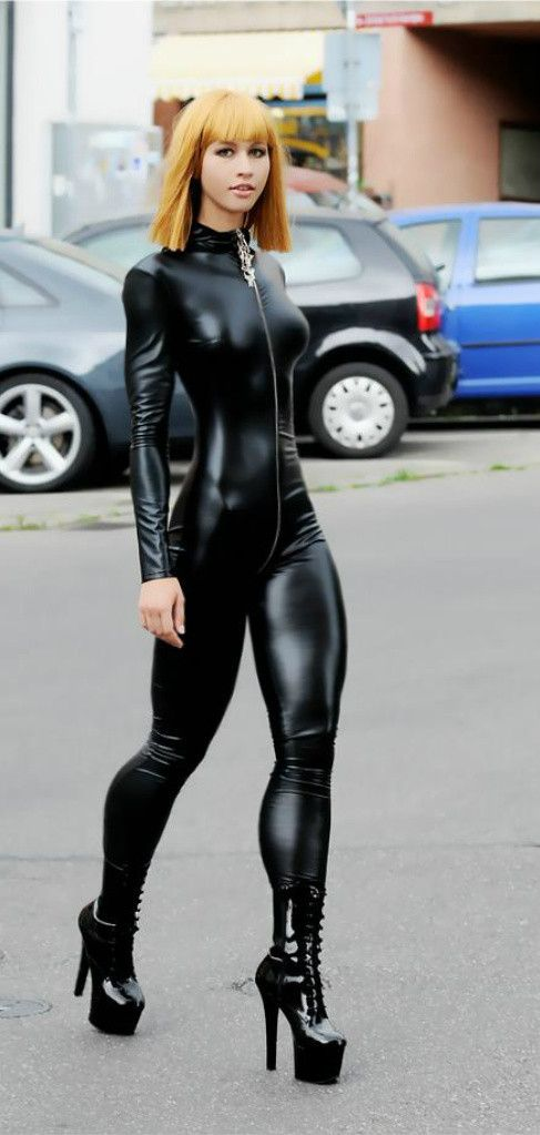 Catsuit, Redheads And Latex On Pinterest