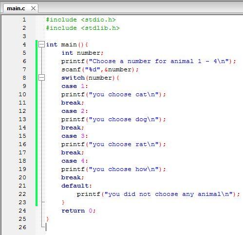 Keywords In C Programming Language C Programming Programming