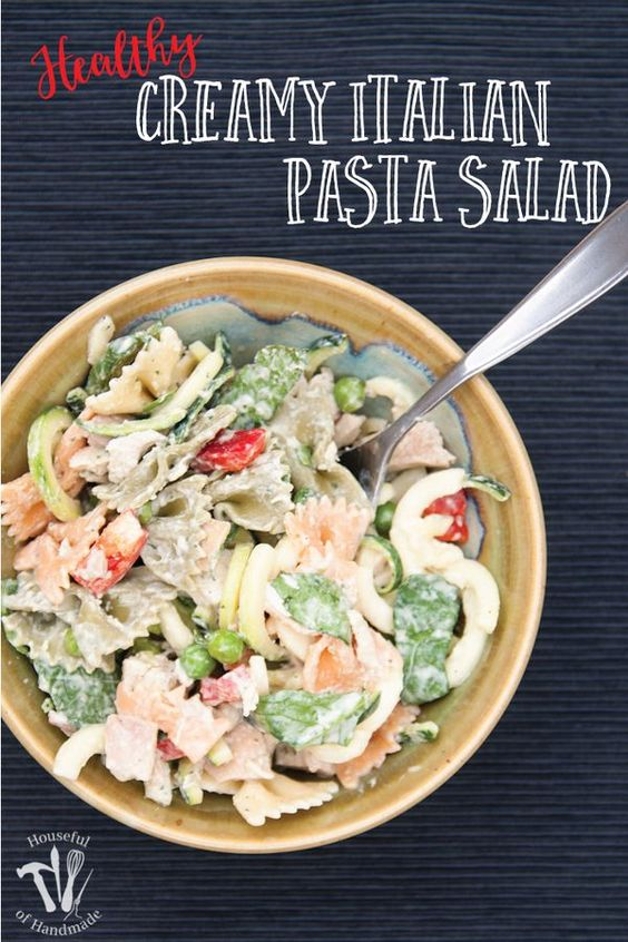 how to make pasta salad without mayonnaise
