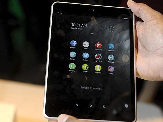 Nokia N1 sở hữu thiết kế rất cao cấp