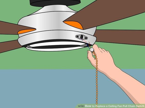 Image titled Replace a Ceiling Fan Pull Chain Switch Step 6
