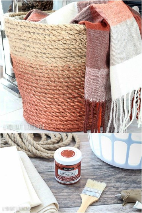 13 Diy Laundry Baskets And Hampers That Make Organizing Laundry Quick And Easy Diy Laundry Basket Hamper Diy Diy Laundry