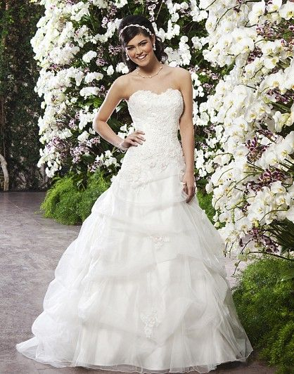 Style 3721 From the new Spring 2013 Collection! Sincerity Bridal Worldwide - Wedding Gowns, Dresses and Evening wear