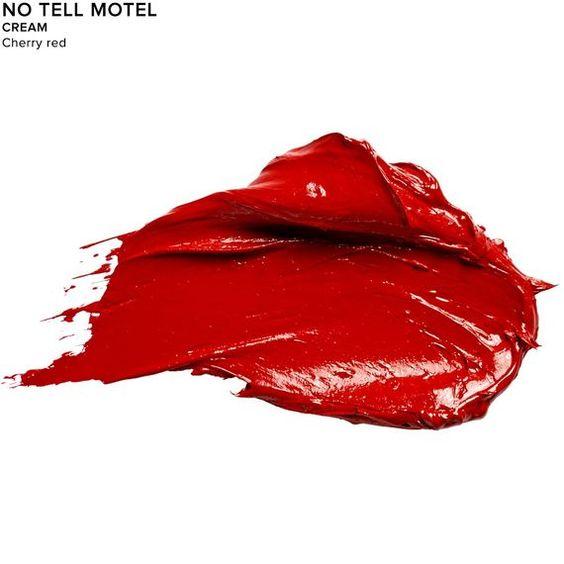Vice Lipstick in color NO-TELL MOTEL (CREAM)-cherry red