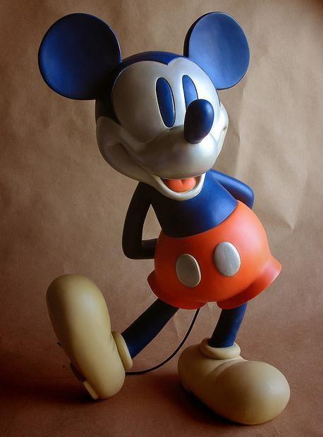 Figurine Mickey Mouse ; CHRISTMAS  BDfugue