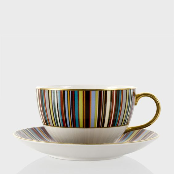 Paul Smith China - Thomas Goode Breakfast Cup And Saucer