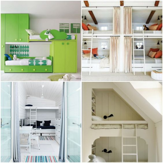 Bunk Bed Ideas Love Building Projects Pinterest Beds For Small Spaces For Kids And