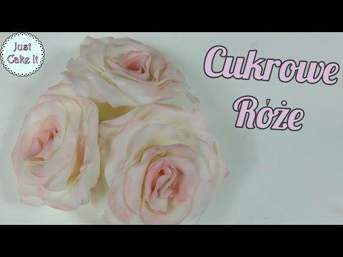 Youtube Fondant Rose Fondant Flowers Fondant