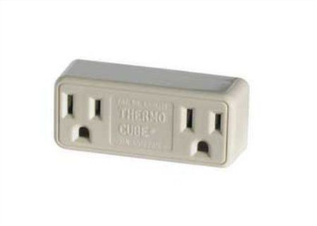 Amazon.com: Farm Innovators TC-3 Cold Weather Thermo Cube Thermostatically Controlled Outlet - On at 35-Degrees/Off at 45-Degrees: Patio, Lawn & Garden