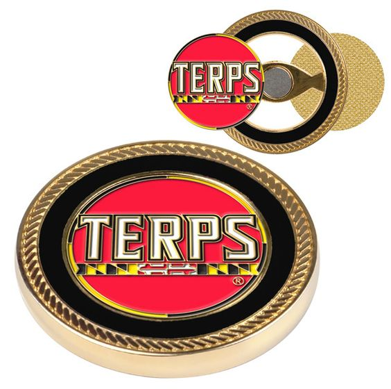 Maryland Terrapins-Challenge Coin / 2 Ball Markers