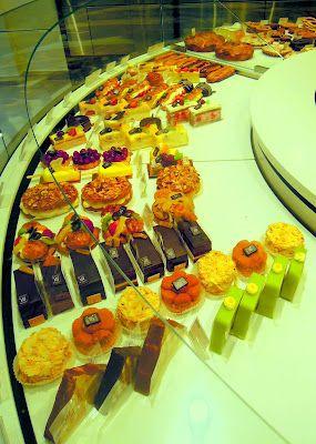 Dessert display at Litzler-Vogel in Strasbourg, France