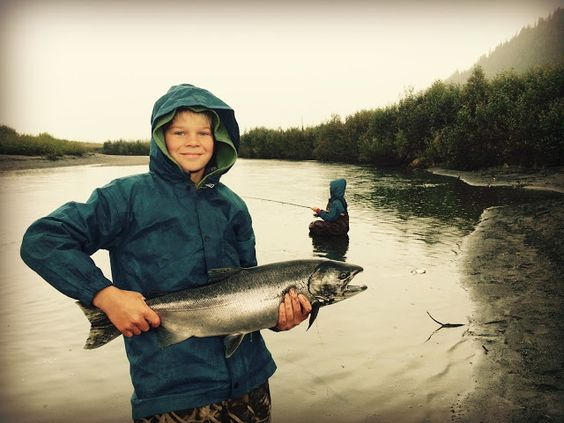 The trip of a lifetime: Fishing in Alaska - a father and his two sons! Best homeschooling ever!
