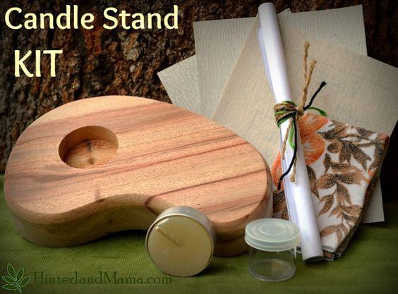 KIT Waldorf inspired woodworking kit Wooden por HinterlandMama