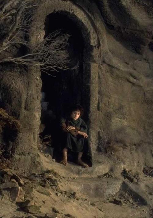 Frodo at Weathertop