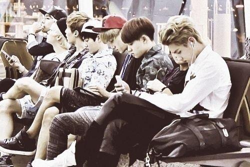 Exo | Exo-m & Exo-k | #fantaken #airport