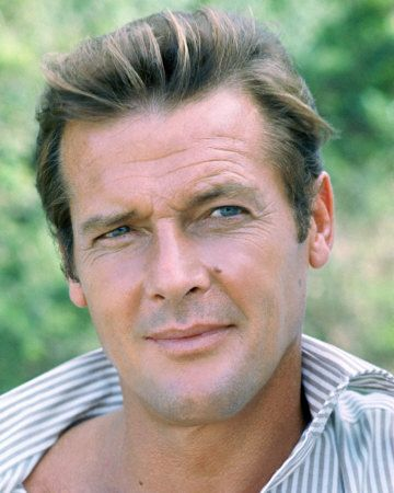 """Roger Moore - Not only my favourite """"Bond"""", but arguably the suavest gentleman around."""
