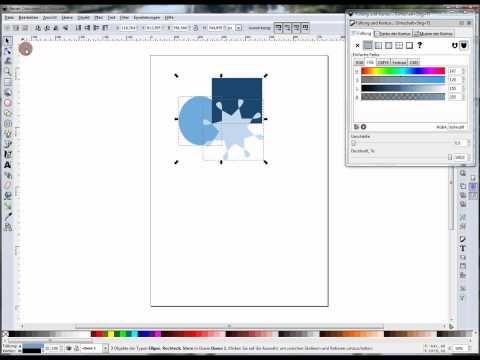 inkscape youtube gimp tutorial objekte objekt vektorgrafik mit erstellen geschenk vektor