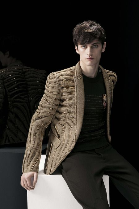 Balmain | Fall 2014 Menswear Collection | Style.com