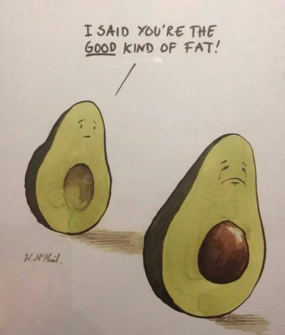 Poor avocado :):