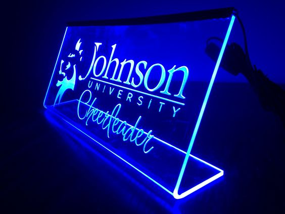 Laser Engraved Led Edge Lit Acrylic Sign Cook S
